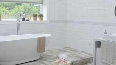 retro dodatki łazienkowe