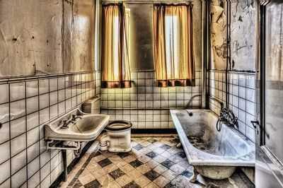 Zwykły chłopak chciał dobrać akcesoria łazienkowe retro